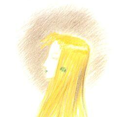 Рисунок Селес работы Ёситаки Амано для музыкального альбома аранжировок <i>Grand Finale</i>.