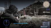 Cerberus sniper rifle in scope mode