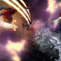 Meteor Strike EX Burst.