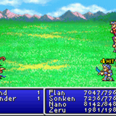 Mythril Knife in <i>Final Fantasy II</i> (GBA).