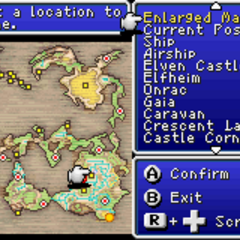 World map (GBA).