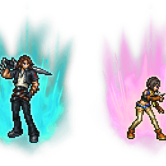 Ultimate++ Leon & Yuffie.