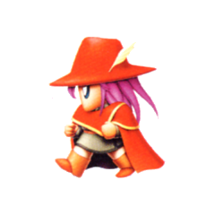 Faris as a Red Mage.