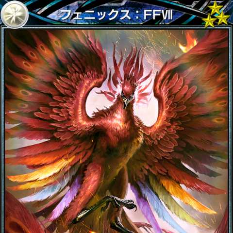 <i>Final Fantasy VII</i> Phoenix ability card.