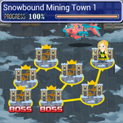 Snowbound Mining Town WM Brigade