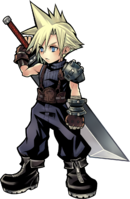 DFFOO Cloud Strife