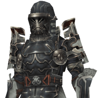 Character model for an Imperial soldier.
