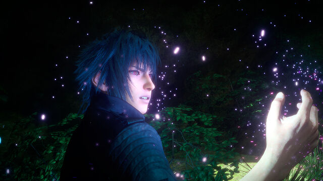 File:Final Fantasy XV Noctis Red Eye With Unknown Power.jpg