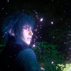 Noctis acquiring astral power.
