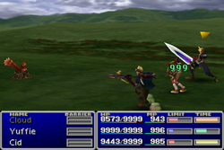 FFVII HP Absorb