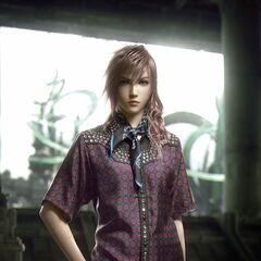 Лайтнинг выступает моделью для нового костюма из коллекции Prada 2012 Men's Spring/Summer Collection.