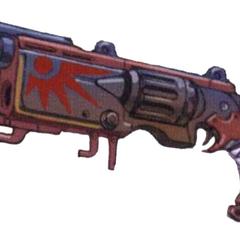 Crimson Squad Gun.