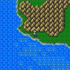 Cave of Eblan on the world map in <i><a href=