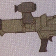 Concept art of the Bazooka.