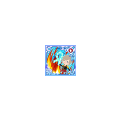 Elementalash (Fire) in <i>Final Fantasy Airborne Brigade</i> (SSR+).