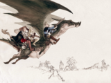 Final Fantasy: The 4 Heroes of Light concept art