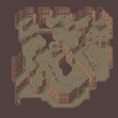 Mapa da Caverna da Névoa(GBA).