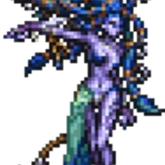 <i>Final Fantasy X</i> boss sprite.
