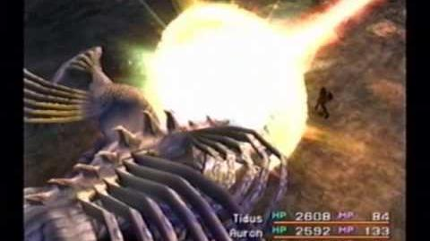 Final Fantasy X Boss - Sanctuary Keeper