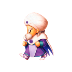 Galuf as a Mystic Knight.