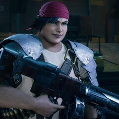 Wedge in <i>Final Fantasy VII Remake</i>.