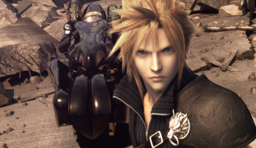 Image result for final fantasy VII advent children