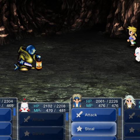 Сражение с Мастером Тонберри в версии игры для <a href=
