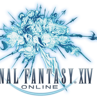Legacy <i>Final Fantasy XIV</i> logo without text.