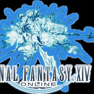 <i>Final Fantasy XIV</i> logo.