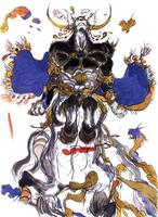 Centaur Exdeath - Yoshitaka Amano FFV