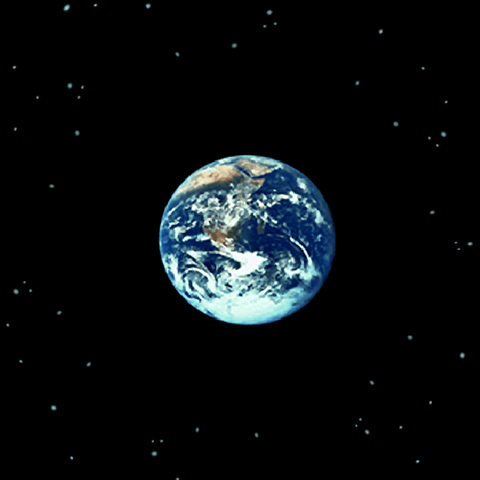 A Terra vista da <i>Lunar Whale</i> (iOS).