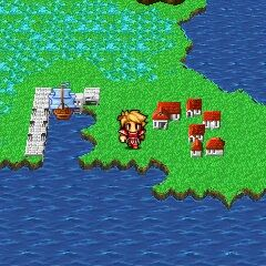 Melmond on the World Map (3DS).