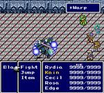 FFIV SNES Warp Battle