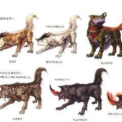 Wolf genus.