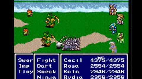 Final Fantasy IV - Revive Glitch