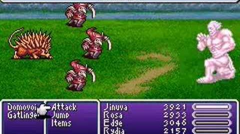 Final Fantasy IV Advance Summons- Titan