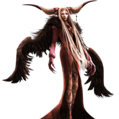CG render of Ultimecia from <i>Dissidia Final Fantasy</i>.