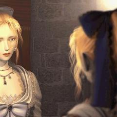 Селес под видом Марии.