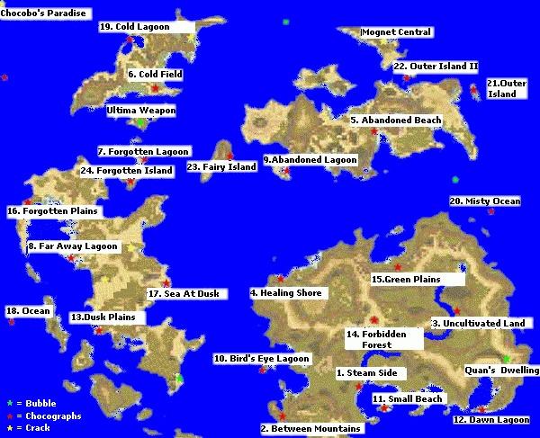 Chocographmap