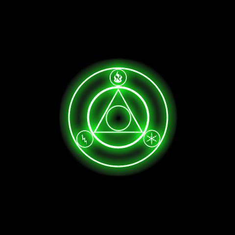Black Magic circle effect from <i><a href=