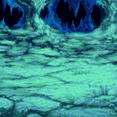 Fundo de batalha (Dentro do meteorito) (GBA).