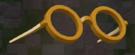 LRFFXIII Yellow-rimmed Glasses