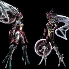Artwork for <i>Final Fantasy XIII-2</i>.