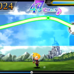 Palamecia Castle in <i>Theatrhythm</i>.