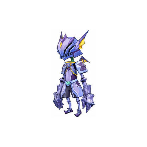 Yuke Dragoon armor artwork.