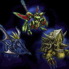 Ultimate Amdusias, Abadon, & Shell Dragon.