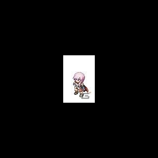 Спрайт Лайтнинг из <i>Final Fantasy XIII</i> <i>FFTS</i>.