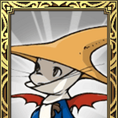 Moogle Black Mage portrait in <i>Final Fantasy Tactics S</i>.