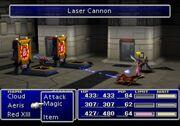 FFVII Laser Cannon
