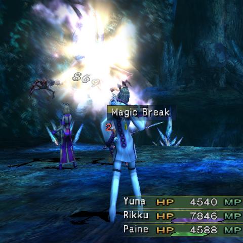 Magic Break in <i><a href=